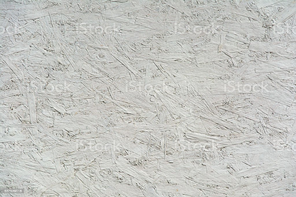 White background from particle board stock photo