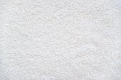 White background of plush fabric