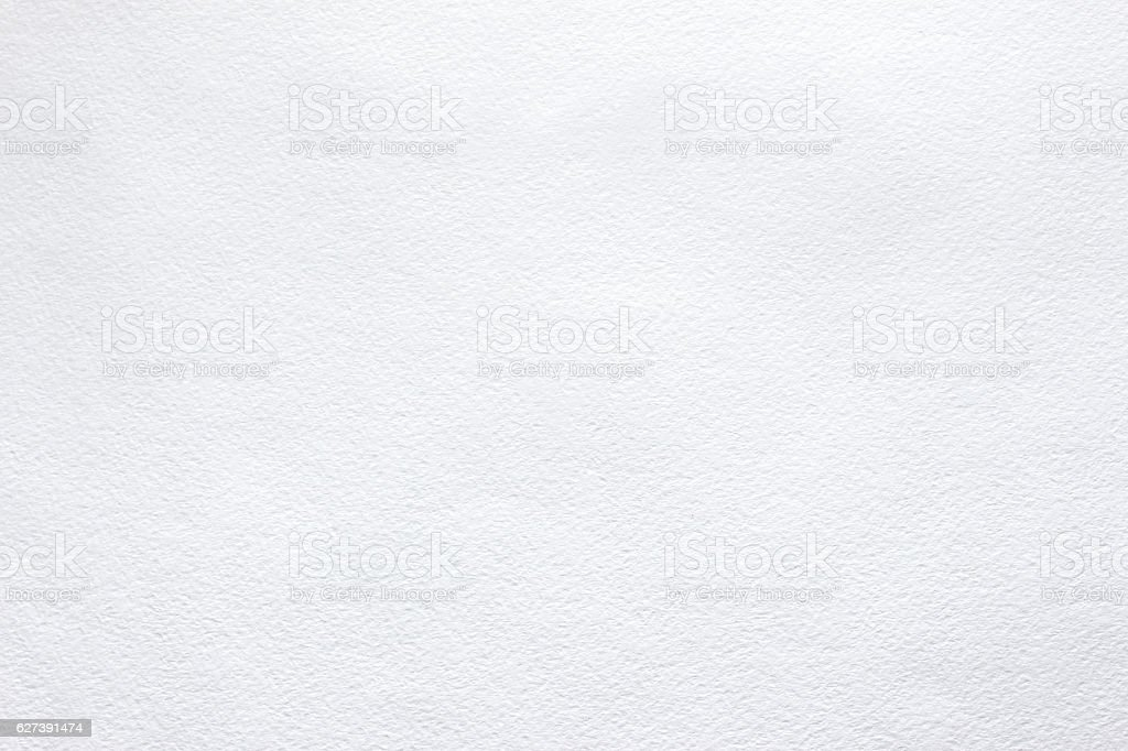 White background of watercolor paper - Photo