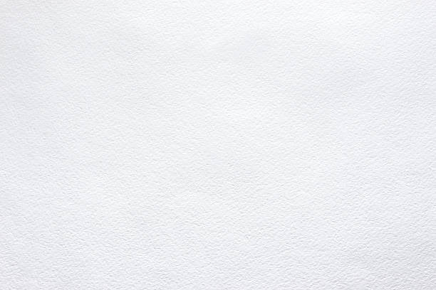 white background of watercolor paper - papierwerk stockfoto's en -beelden
