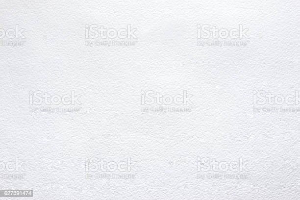 White background of watercolor paper