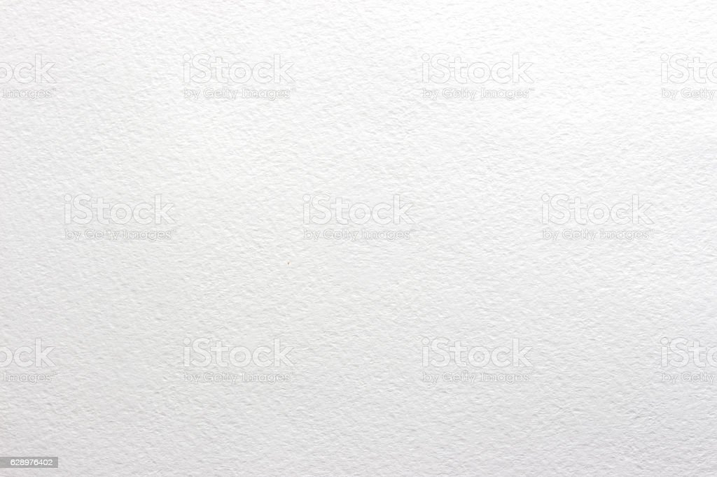White background of watercolor paper stock photo
