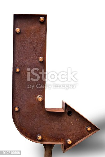 istock White background signboard, in front of the store item 910719568