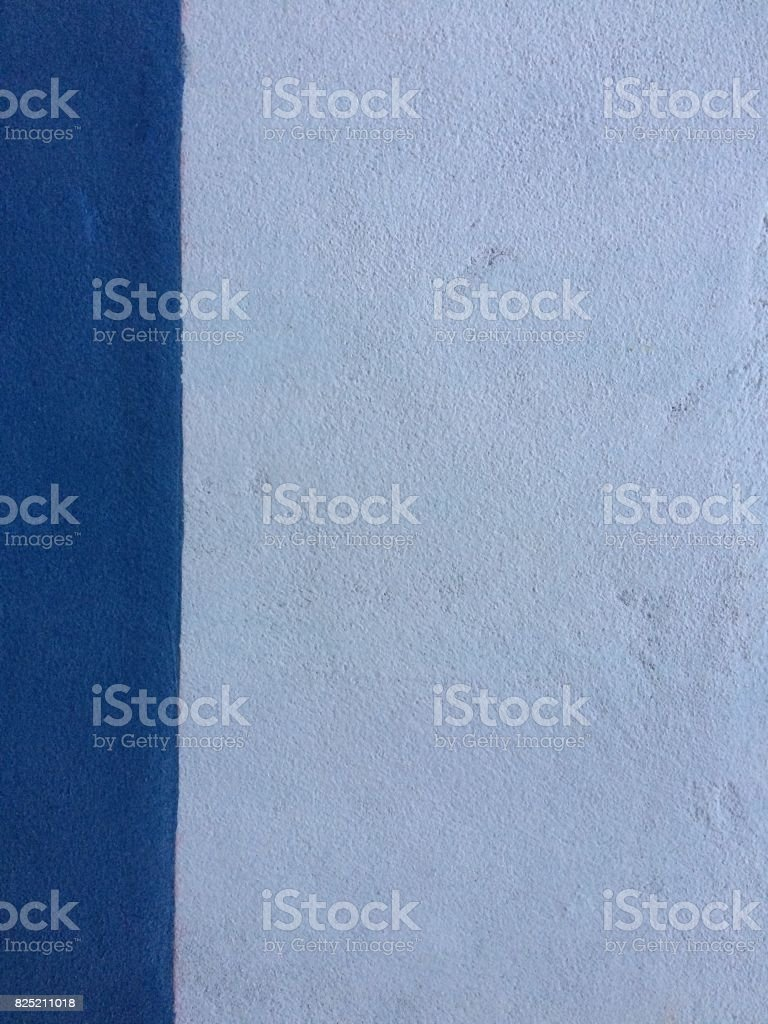 White background with blue bar stock photo