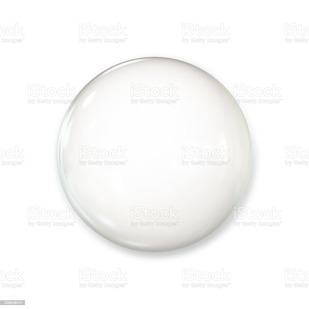 White Badge stock photo
