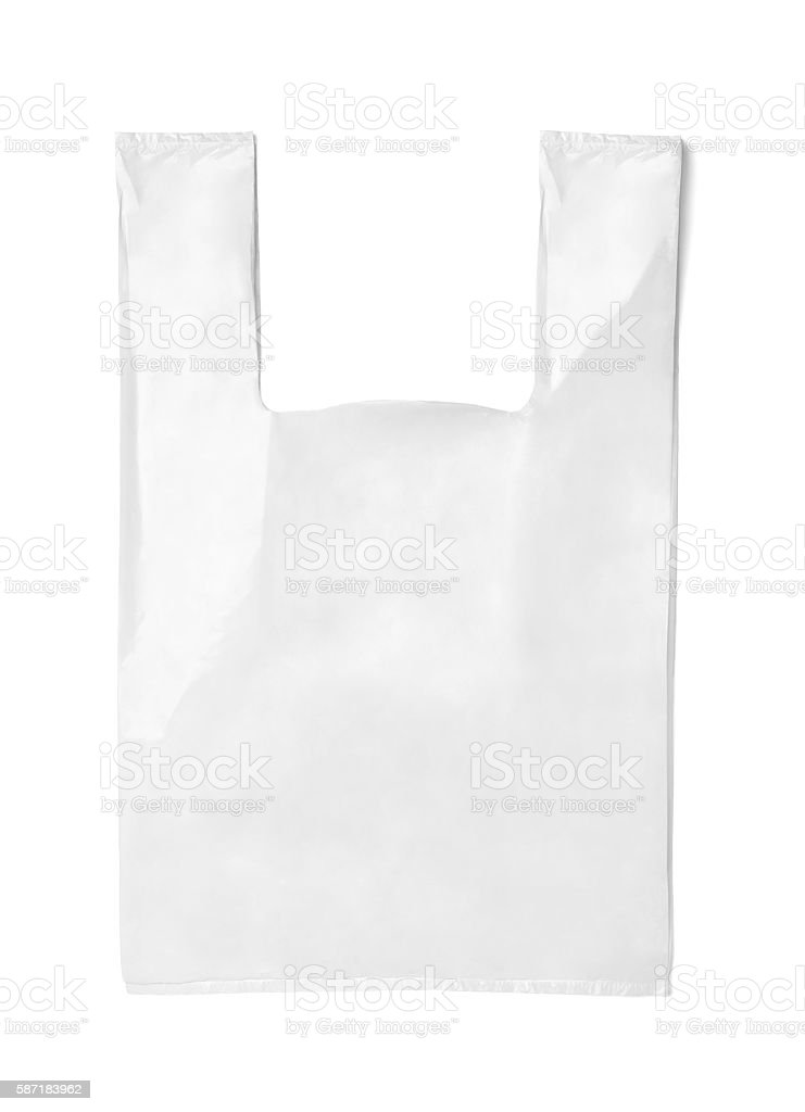 white bag template plastic paper shopping stock photo more