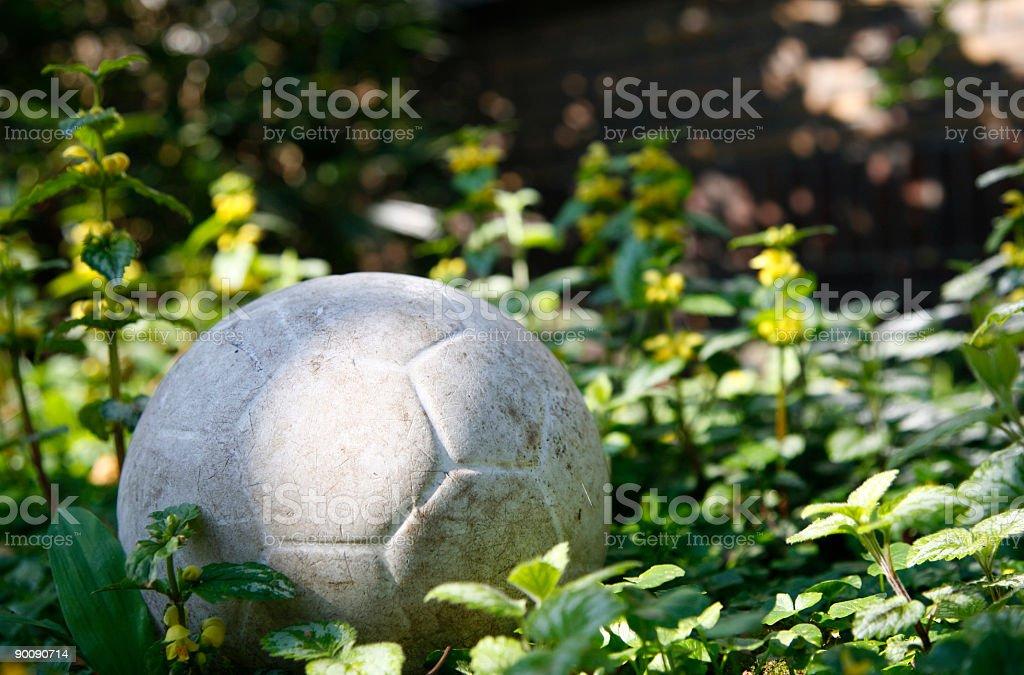 White ball royalty-free stock photo