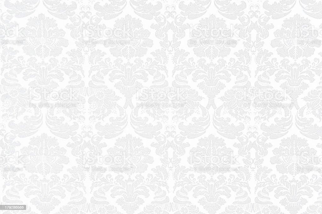 Barroco fondo blanco - foto de stock