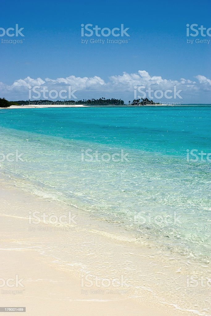 white beach lagoon indian ocean royalty-free stock photo