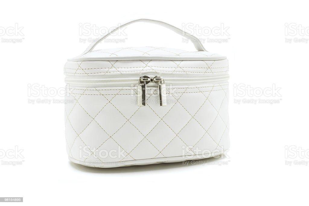 Bellezza bianco Borsa foto stock royalty-free