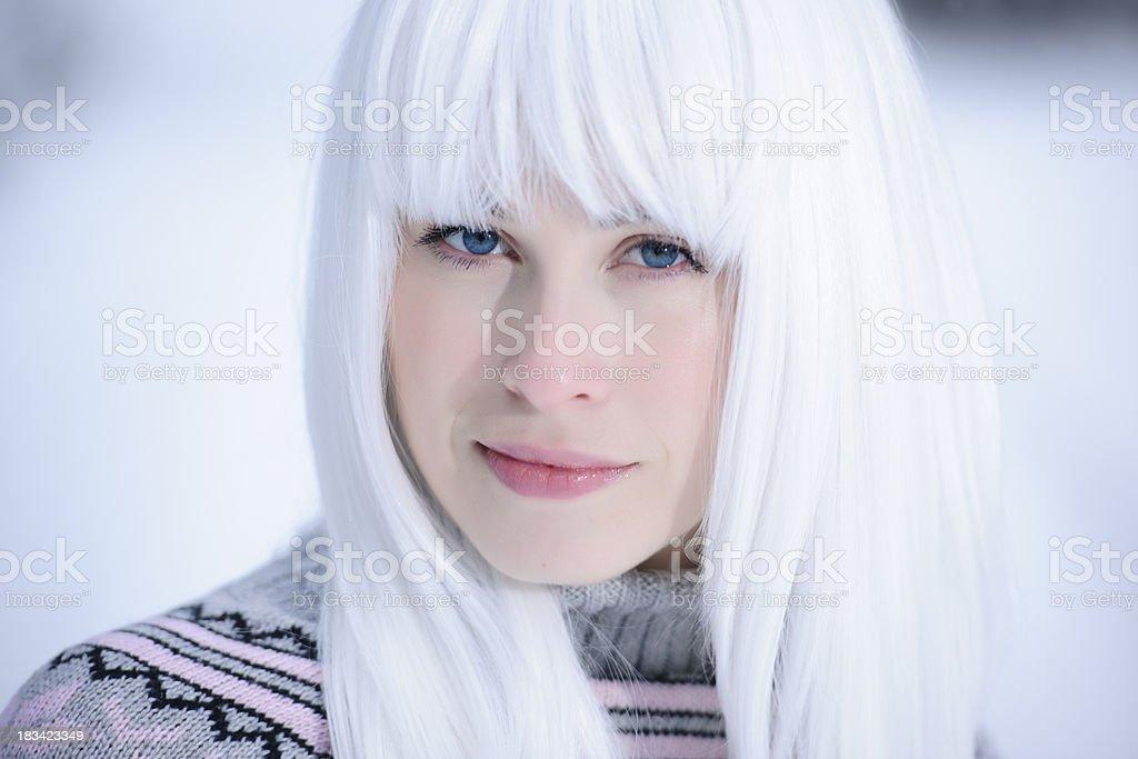 white beauty stock photo