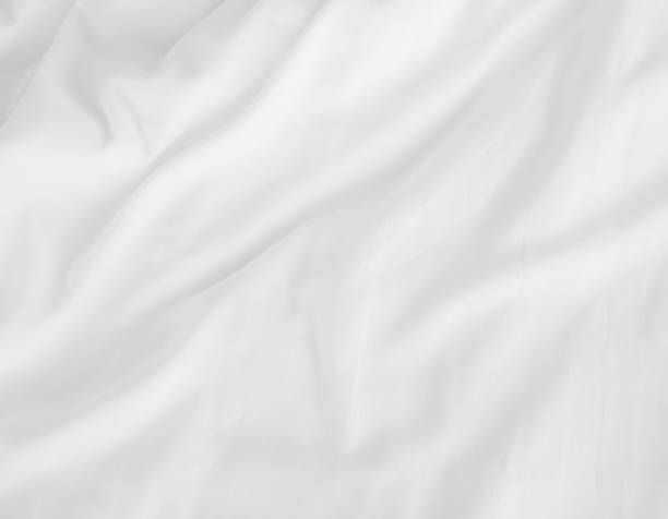 white bed sheets - textile stock photos and pictures