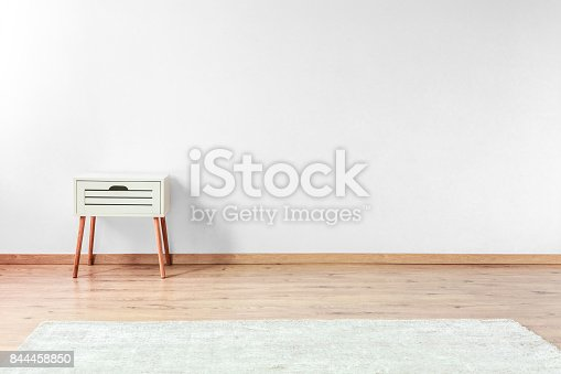 istock White bedside cabinet 844458850