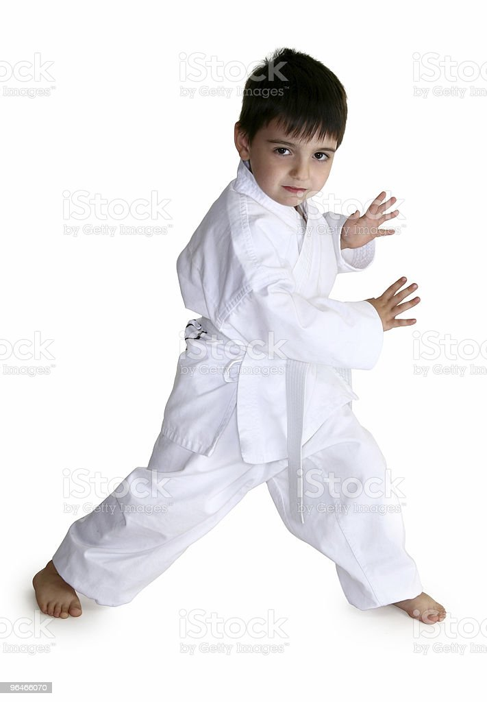 White Belt royalty-free stock photo