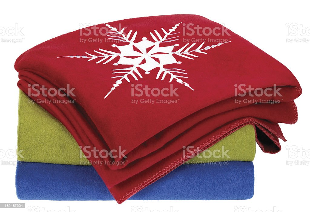 White BG-Blankets royalty-free stock photo