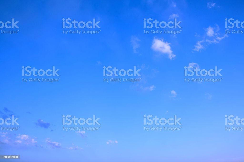 White big Cumulus clouds royalty-free stock photo