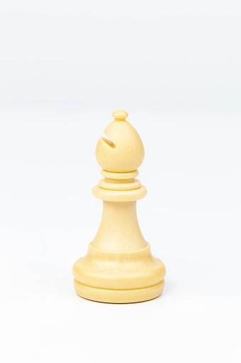 White Bishop Chess Piece