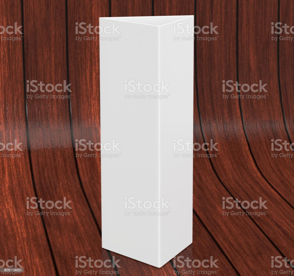 white blank empty paper trifold table tent card mockup template 3d