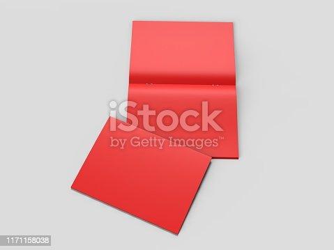 839809942istockphoto White blank hard cardboard box mock up template, 3d illustration. 1171158038