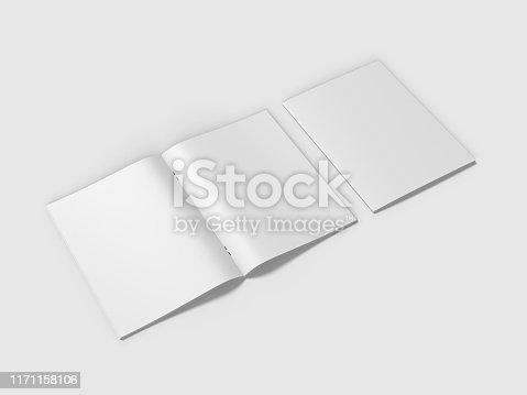 839809942istockphoto White blank hard cardboard box mock up template, 3d illustration. 1171158106