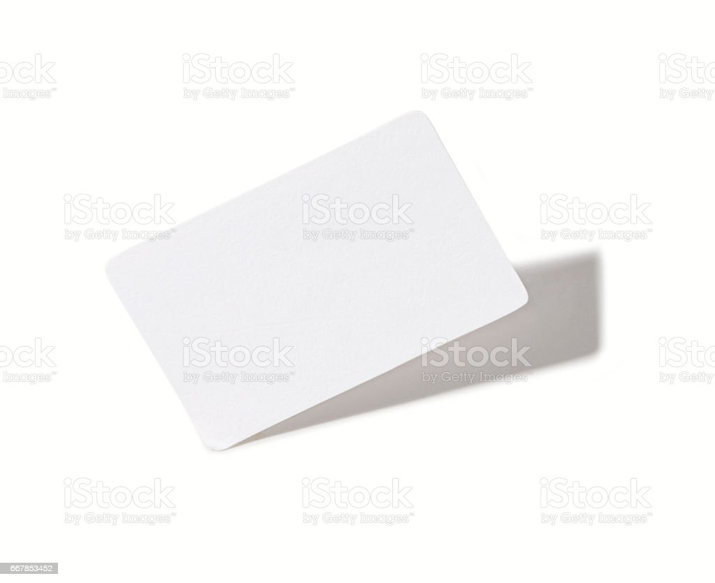 White blank paper stock photo