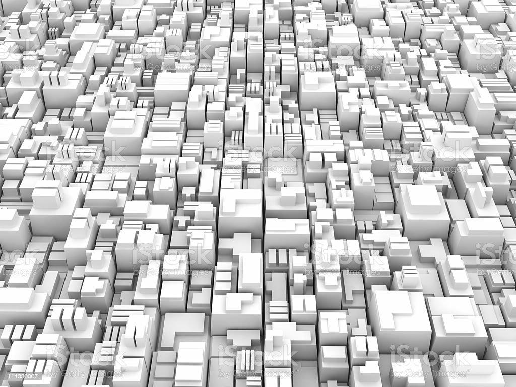White Blocks Background royalty-free stock photo