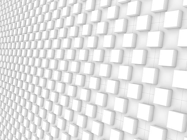 white blocks pattern background - low contrast stock pictures, royalty-free photos & images