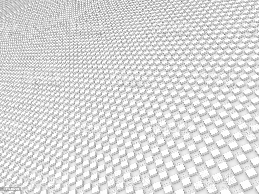 White Blocks Pattern Background royalty-free stock photo