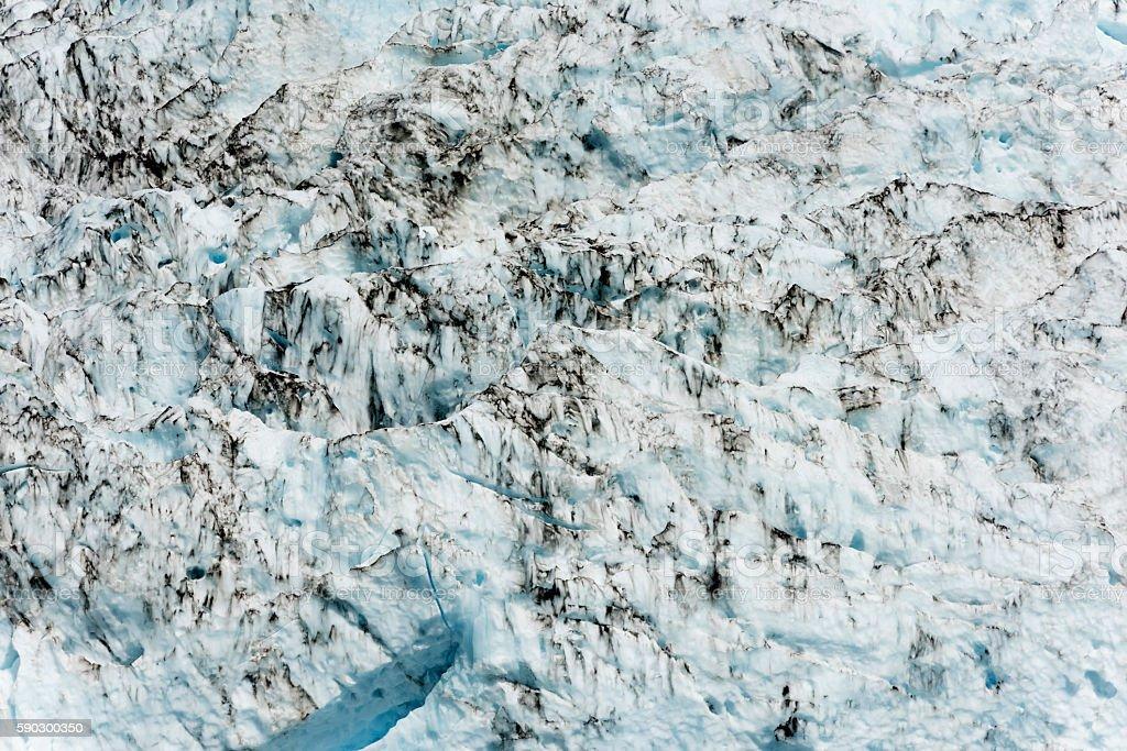 White Blue Black Glacier abstract royaltyfri bildbanksbilder