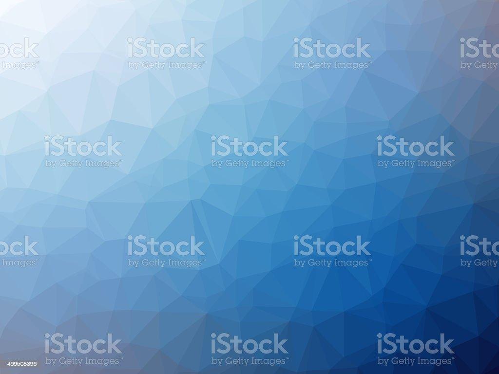 Blanco blue polygon fondo con forma de gradiente - foto de stock