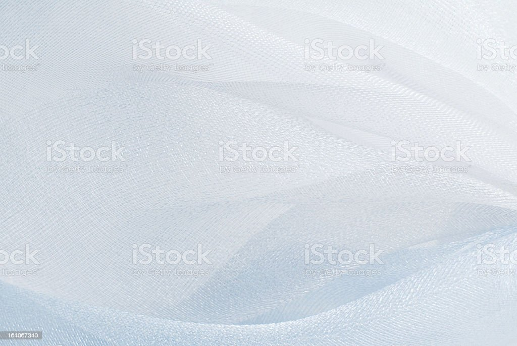 white blue organza fabric texture royalty-free stock photo