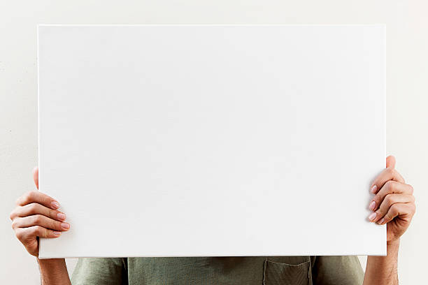white board,Placard stock photo