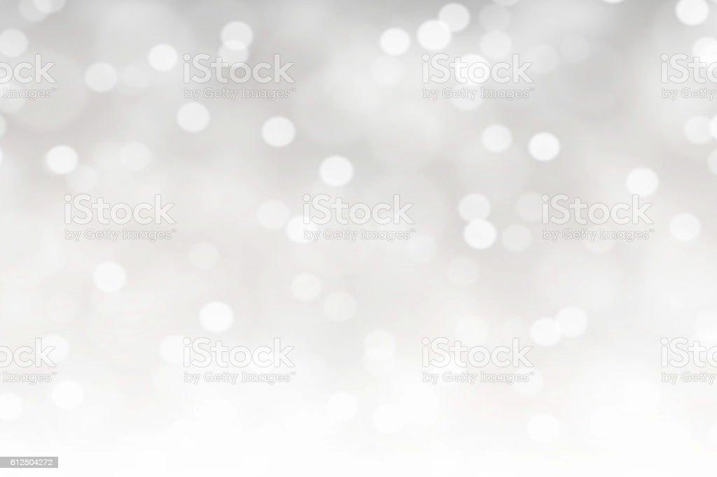White Bokeh Lights Abstract Background - お祝いのロイヤリティフリーストックフォト