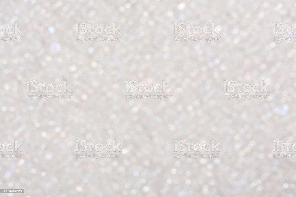 White bokeh lights background stock photo