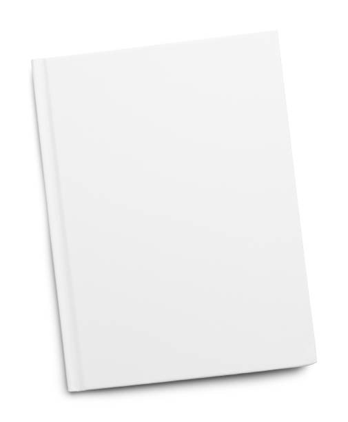 White Book Cover stock photo