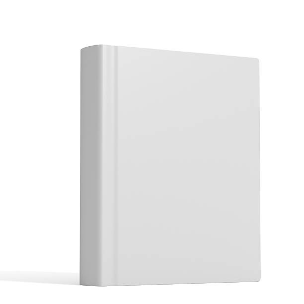 White book with no title standing on white background http://kuaijibbs.com/istockphoto/banner/zhuce1.jpg  hardcover book stock pictures, royalty-free photos & images