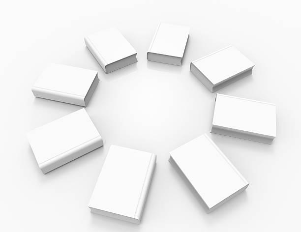 weiße bücher - planner inserts stock-fotos und bilder