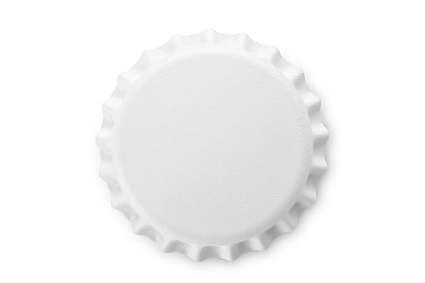 White bottle cap White bottle cap. Photo with clipping path.Similar photographs from my portfolio: bottle cap stock pictures, royalty-free photos & images