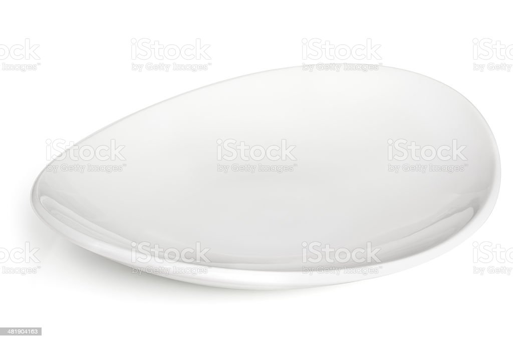 White Bowl Isolated stock photo