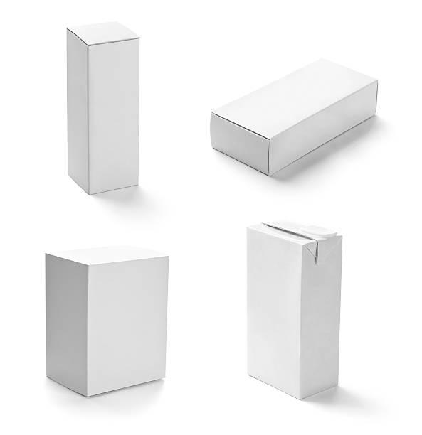 white box container template blank package - wine box bildbanksfoton och bilder