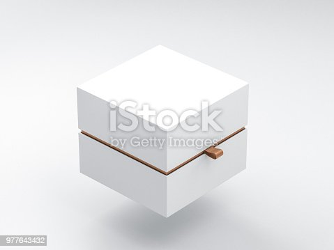 istock White Box packaging Mockup Half Side View 977643432