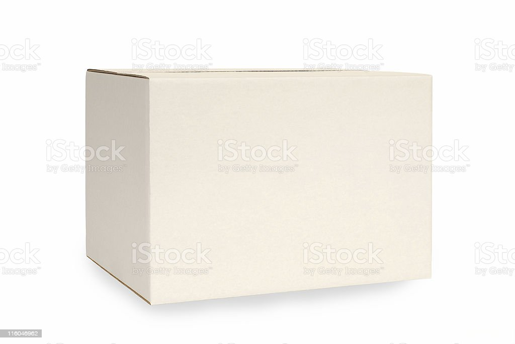White box royalty-free stock photo