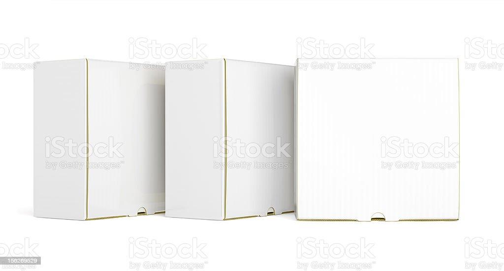 White box. royalty-free stock photo