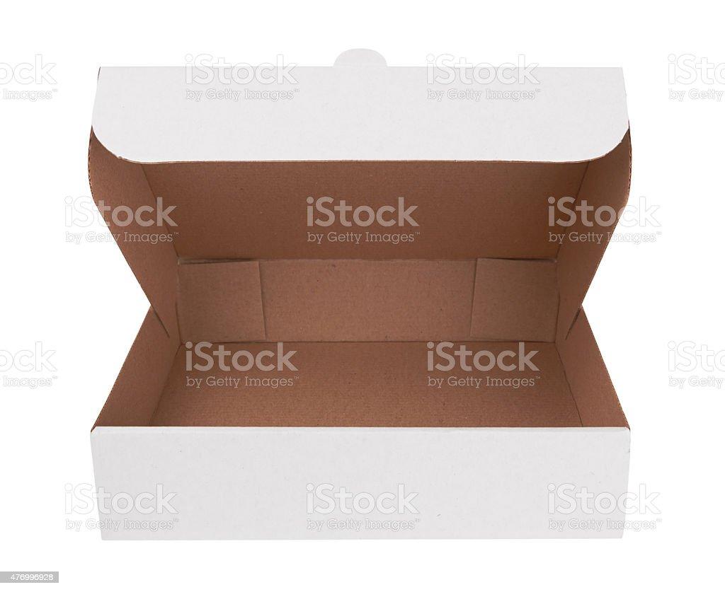 white box stock photo