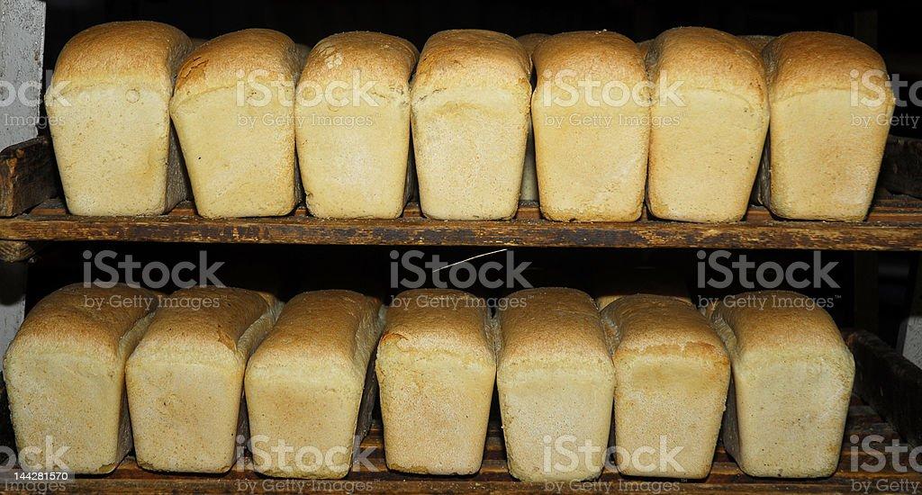 White bread royalty-free stock photo