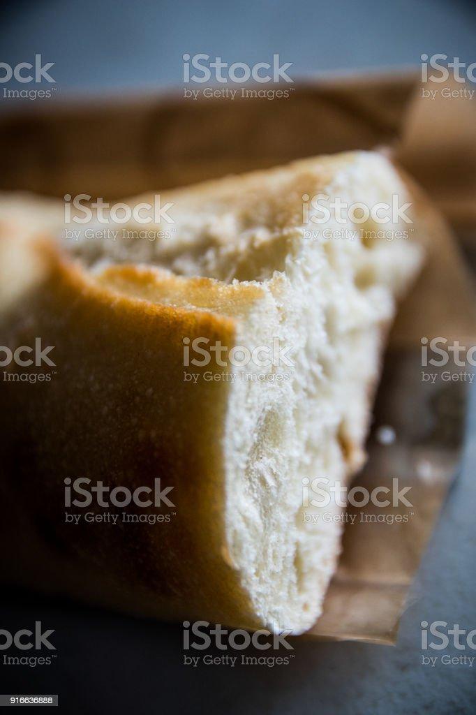 White bread stock photo