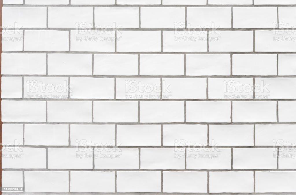white ceramic brick for decoration texture background