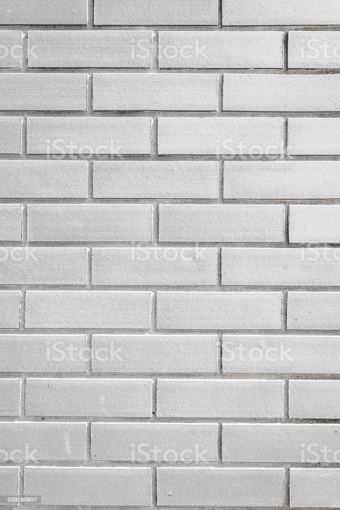 White brick texture stock photo