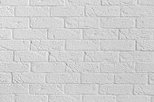 White brick wall background with space for text