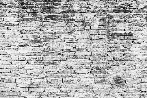 628471550 istock photo White brick wall background 1191181400